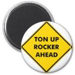 Rockers Caution Sign Magnet