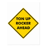 Rockers Caution Sign Post Cards