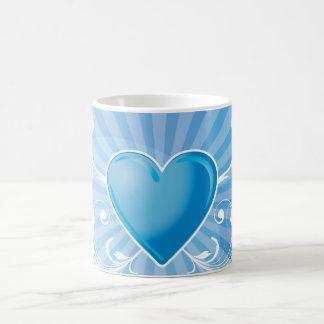 Rockers heart coffee mug