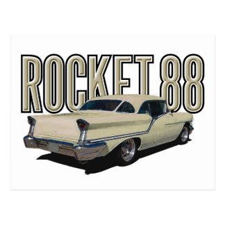Rocket 88 postcard