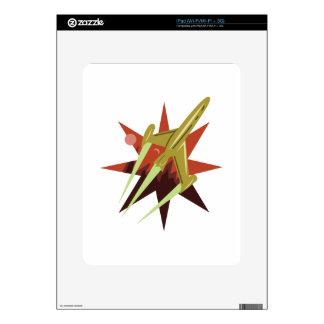 Rocket arruina apagado calcomanía para el iPad