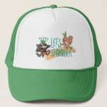 "Rocket & Baby Groot ""Let's Shamrock"" Trucker Hat"