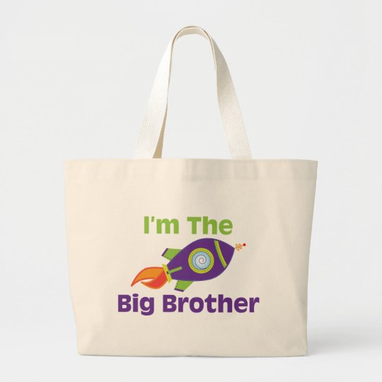 Rocket Big Bro Large Tote Bag