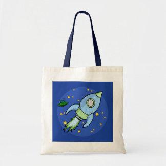 Rocket blue green Bag