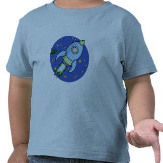 Rocket blue green Toddler T-shirt