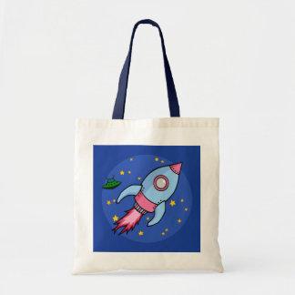 Rocket blue pink Bag
