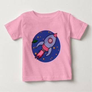 Rocket blue pink Infant T-shirt