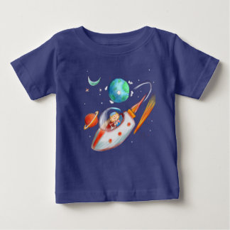 Rocket Boy Baby T-Shirt