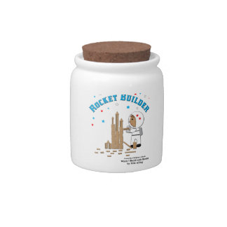 Rocket Builder Candy Jar