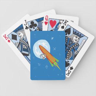 ROCKET BUN BICYCLE PLAYING CARDS