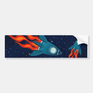 Rocket Etiqueta De Parachoque