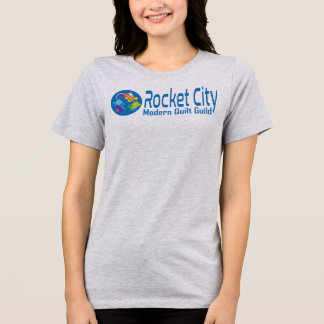 Rocket City Modern Quilt Guild Logo Tee with Back