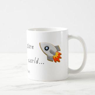 Rocket Cookie Mugs