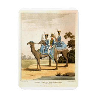 Rocket Corps and Dromedary Corps, Bengal Army 1817 Magnet