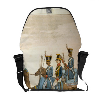 Rocket Corps and Dromedary Corps, Bengal Army 1817 Messenger Bags