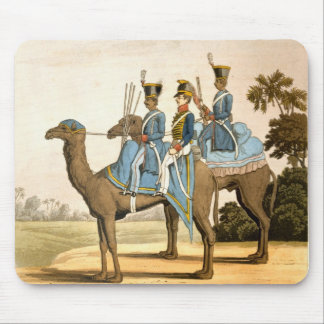 Rocket Corps and Dromedary Corps, Bengal Army 1817 Mouse Pad