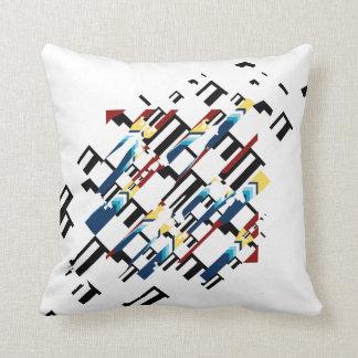 Rocket cushion throw pillow