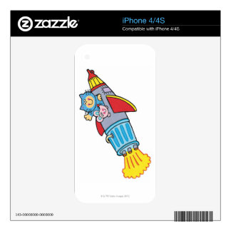 Rocket Decal For The iPhone 4S