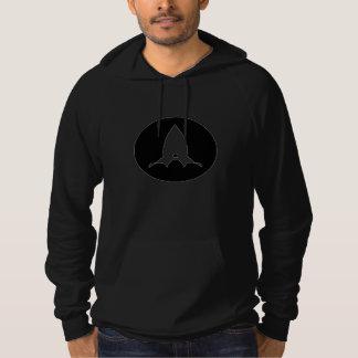 Rocket Design Hooded Sweatshirt