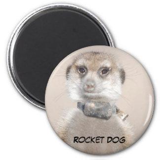 Rocket Dog Magnet