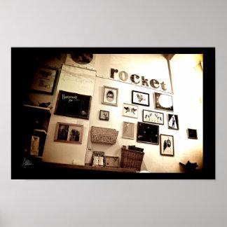Rocket, Edinburgh [Print] Poster