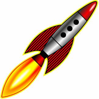 Rocket Pin Fotoescultura
