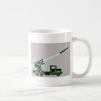 Rocket Fire Truck Coffee Mug