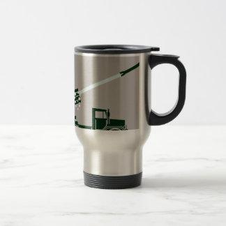 Rocket Fire Truck Travel Mug