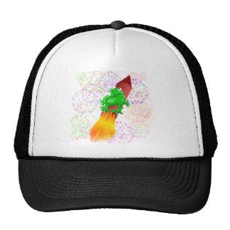 rocket frog trucker hat