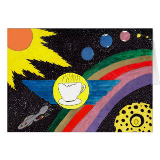 Rocket Fuel Stationery Note Card