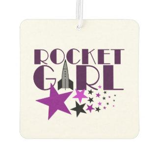 Rocket Girl Air Freshener