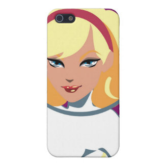 Rocket Girl iPhone SE/5/5s Cover