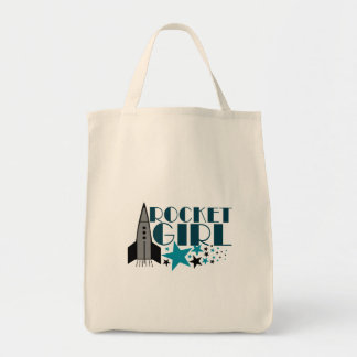 Rocket Girl Tote Bag