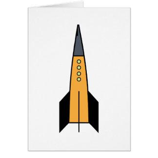 Rocket Greeting Card