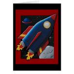 Rocket Greeting Cards