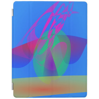 Rocket in the Blue Sky iPad Cover