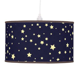 Rocket Kids Retro Night Sky & Stars Pendant Lamp