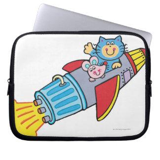 Rocket Laptop Sleeves