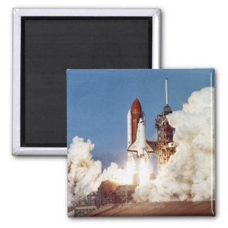 Rocket Launch 2 Refrigerator Magnet