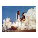 Rocket Launch 2 Postcard