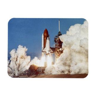 Rocket Launch 2 Flexible Magnet