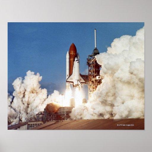 Rocket Launch 2 Print