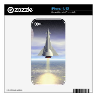 Rocket Launch iPhone 4S Decal