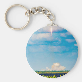 Rocket Launch Keychain
