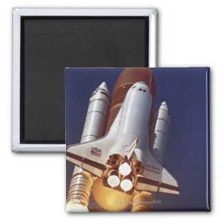 Rocket Launch Refrigerator Magnet