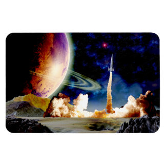 Rocket Launch Flexible Magnets