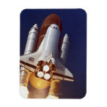 Rocket Launch Rectangular Magnet