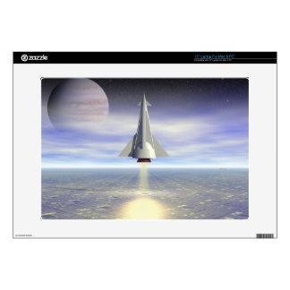 "Rocket Launch 15"" Laptop Skins"