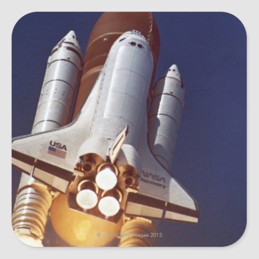Rocket Launch Stickers