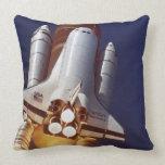 Rocket Launch Throw Pillows